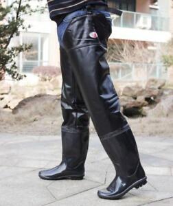 New Mens Thigh High Rain Boots