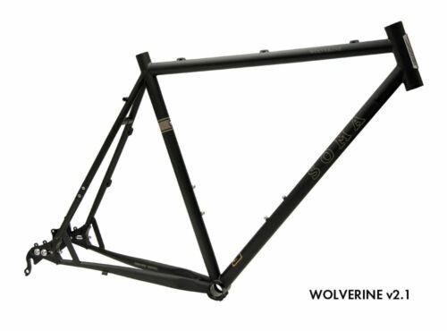 2018 Soma Wolverine Gravier cadre vélo 62 cm XL 650B 29er Belt Drive Disc Charity