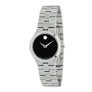 Movado 0607444 Women's Juro Black Quartz Watch