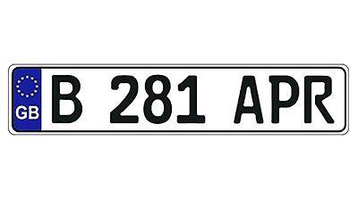 New Great Britain/United Kingdom/UK EEC European Front License Plate(Random)