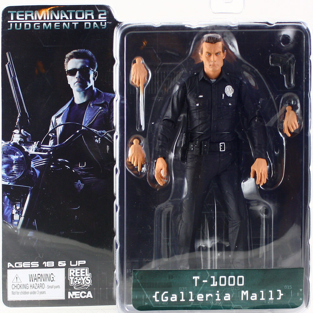 Terminator 2 series 3 T-1000 GALLERIA MALL action figureNECACult ClassicsMIB