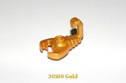 LEGO Gold Scorpion Pearl Gold pack of 2 30169