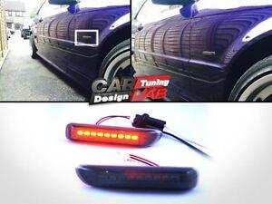 LED-Side-Marker-Lights-Smoke-Fits-98-01-BMW-E46-3-Series-4DR-1999-2003-2DR