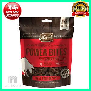Power Bites All Natural Grain Free Gluten Free Soft & Chewy Chew Dog Treats 6 Oz