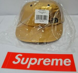 2c2fddd6b2889 Supreme New York SS18 The North Face Metallic 6-Panel Gold Strap 100 ...