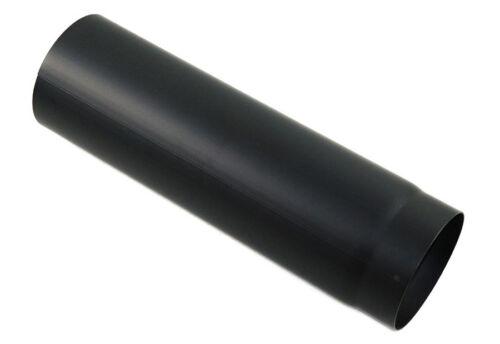Rauchrohr DN 160 mm Ofenrohr Kamin Länge 1000 mm Schwarz Stahlrohr Ofenrohr Neu