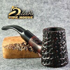 ORIGINALE balandis BRIAR FUMARE Pipe hand made Bent POKER CAPITANO BLOODY cattivo