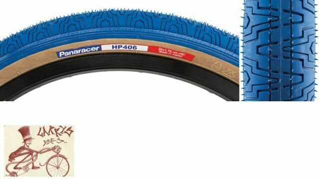 Panaracer HP406 BMX Tire Skinwall White NOS Old School For Hutch GT Haro Charity
