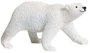100% Vrai L'ours Polaire 12 Cm Série Animaux Sauvages Safari Ltd 273329 Ancienne Version