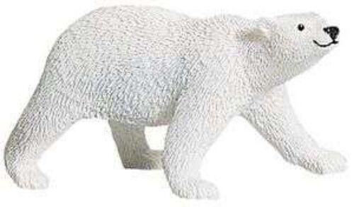 Orso Polare 12 cm Serie Animali Selvaggi Safari Ltd 273329 Vecchio Disegno