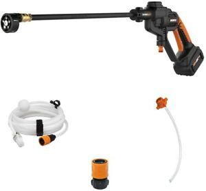 WG620 20V 4.0ah MaxLithium Hydroshot Cordless Portable Power Cleaner