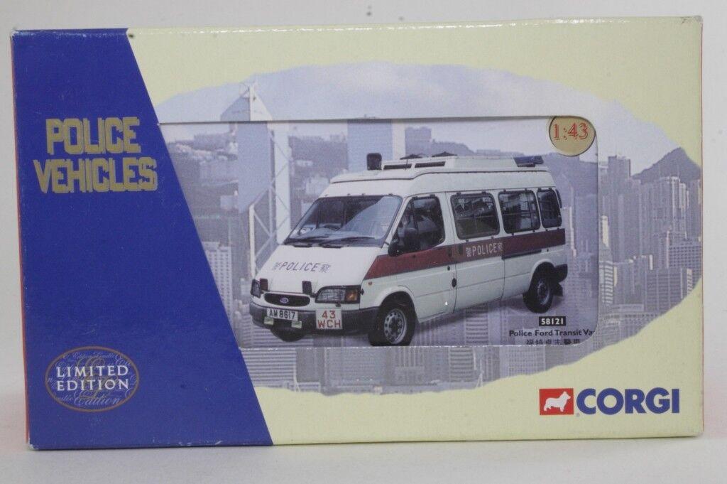 CORGI 58121 très rare Hong Kong Police URGENCE 1 50 Brand New