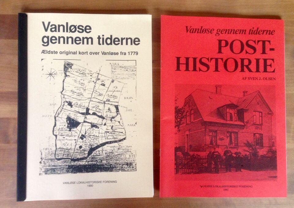 Vanløse gennem tiderne, emne: lokalhistorie