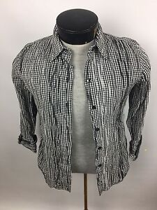 2a2cd4d0a4 Details about Foxcroft Women s Blouse~Size 8 Fitted~Wrinkle Free Non Iron  Cotton Blend