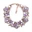 Fashion-Elegant-Women-Bib-Crystal-Pendant-Statement-Chain-Chunky-Choker-Necklace thumbnail 127