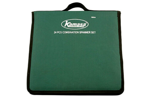 KAMASA TOOLS OFFER MIXED LONG SHORT COMBINATION SPANNER WRENCH SET WALLET