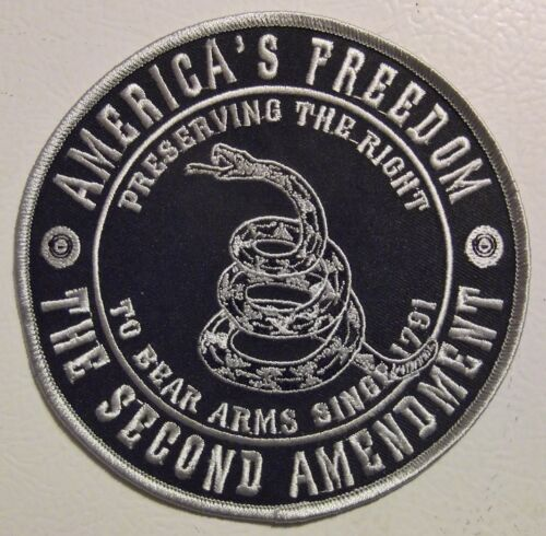 2ND AMENDMENT PATCH AMERICA/'S FREEDOM PRESERVING THE RIGHT TO KEEP /& BEAR ARMS