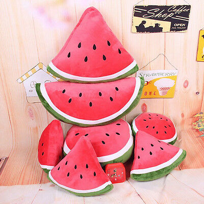 Plush Toys Watermelon Pillow Home Sofa Padded Cushion Cute Pillow Toys Kids Gift