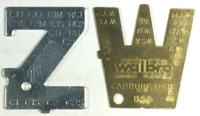 GENUINE Walbro & Zama Metering Lever Adjustment Tools ZT-1 500-13