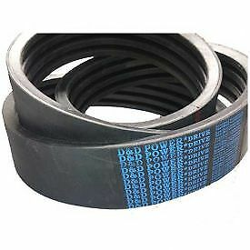 D/&D PowerDrive 3V800//12 Banded Belt  3//8 x 80in OC  12 Band