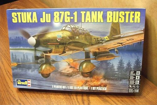 REVELL STUKA Ju 87G-1 TANK BUSTER 1//48 SCALE AIRCRAFT MODEL KIT