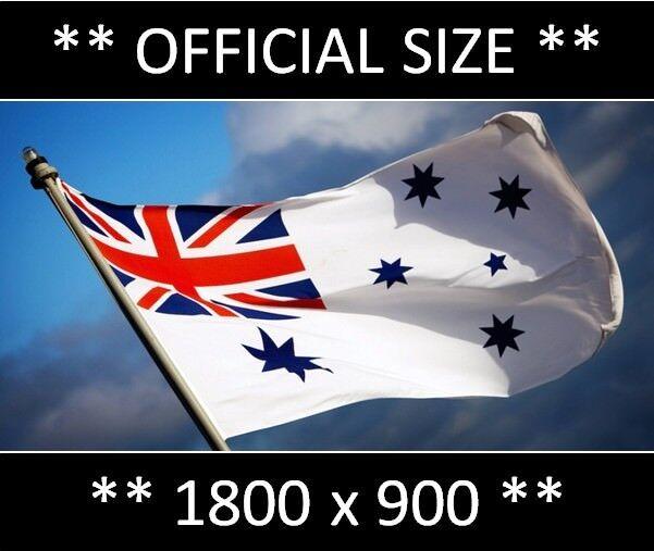 Australia White Navy Ensign 5/'x3/' Flag Australian Military Army