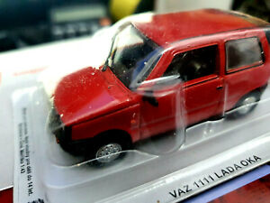 VAZ-1111-Lada-Oka-Rossa-Scala-1-43-DeAgostini-Nuova