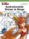 How To Draw Manga: Ausdrucksstarke Skizzen im Manga von Hikaru Hayashi (2012, Taschenbuch)