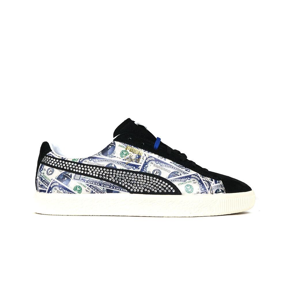 364303-02 Puma x Mita Clyde   1,000  (Black) - Men's shoes
