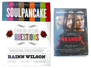 Rainn Wilson Lot SoulPancake Chew on Life's Big Questions and Hesher DVD