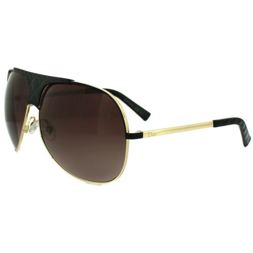 Dior Sunglasses My Lady Dior 8 VN0 D8 Black Gold Brown Gradient