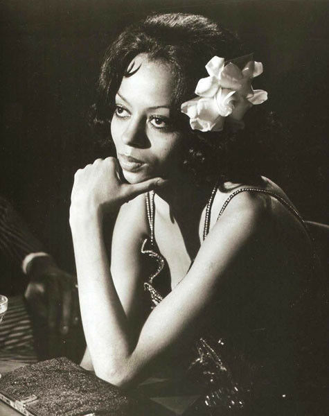 Diana Ross UNSIGNED photograph - L3570 - Lady Sings the Blues - NEW IMAGE!!!!