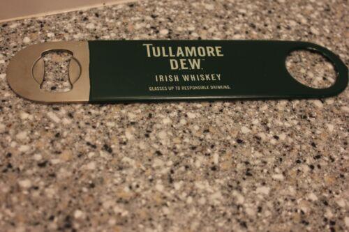 Tullamore Dew Irish Whiskey Green Rubber Covered Metal Key Bottle Opener Free Sh