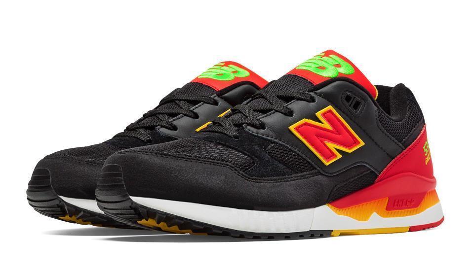 New Balance Negro/red/Amarillo Classics Elite Pinball m530pin Negro/red/Amarillo Balance / Verde Brillante 64927c