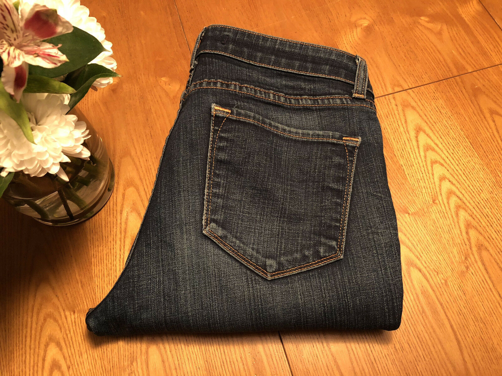 WOMENS J BRAND INK STRAIGHT SKINNY ANKLE JEANS SIZE 29 X 31 NWOT...VERY NICE