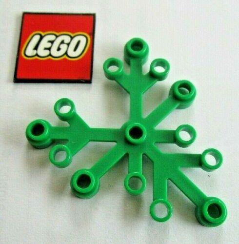 paquete de 6 Lego planta Hoja//Hojas//extremidad 6x5 ID de diseño 2417