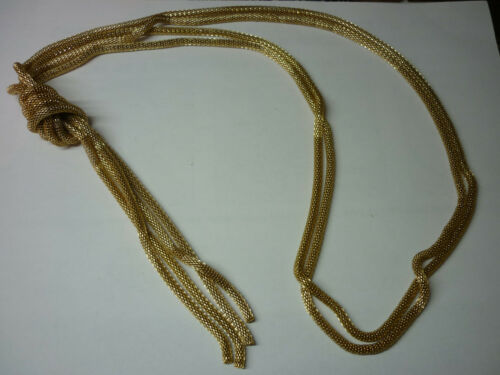 Knot Costume Necklace 28 Inches BRAND NEW