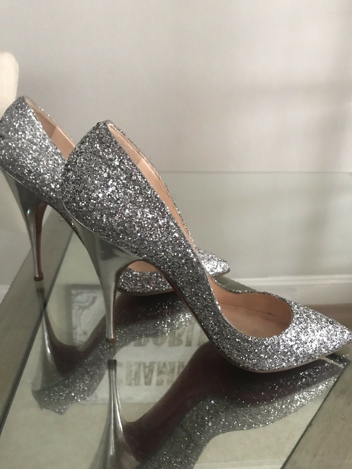 Christian Louboutin Pigalle 120 Glitter Size 40 shoes Pumps Limited Edition