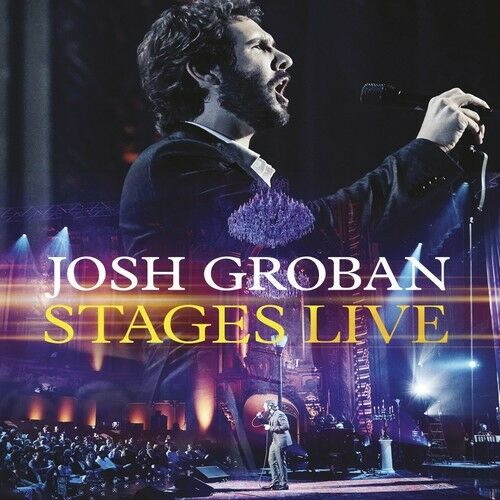Josh Groban - Stages Live [New CD] With Blu-Ray