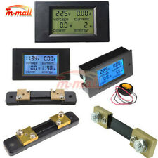 Acdc 65 100v 2050100a Lcd Combo Panel Display Volt Amp Power Meter Tester
