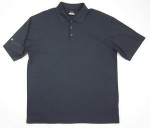 4e39f687 Nike Golf Dri-FIT Micro Pique Solid Graphite Gray Polo 363807-060 Sz ...
