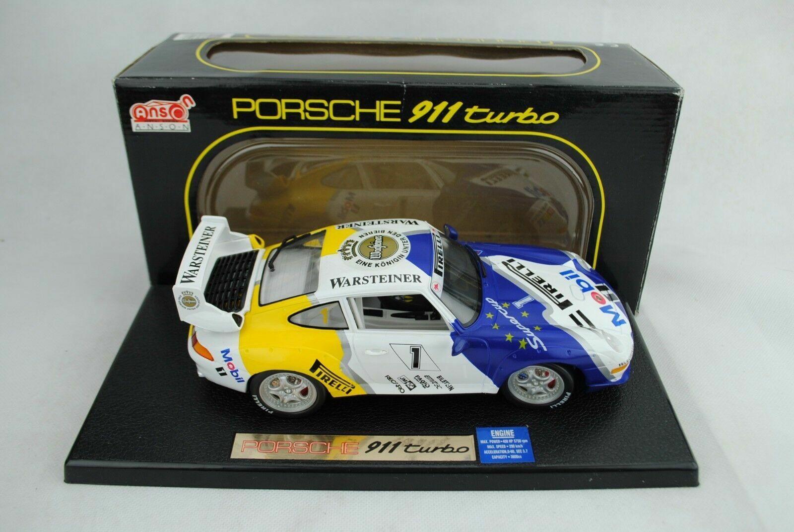 1 18 Anson  30320 PORSCHE 911 Turbo  1  RARITà