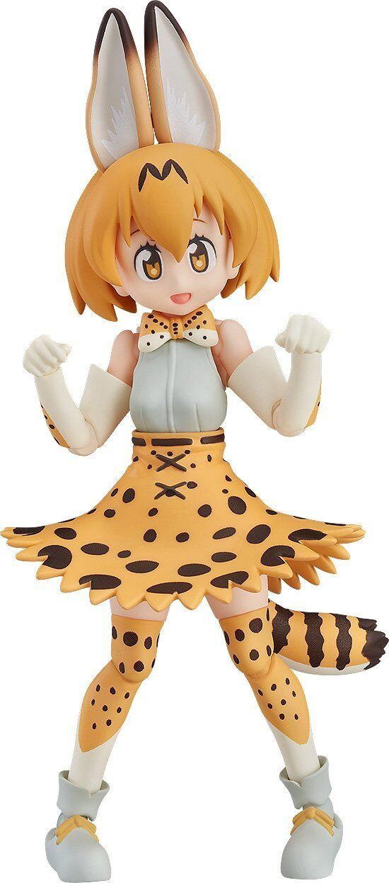 Max Factory figma Kemono Friends Serval 125mm Action Figure