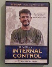 systema  BREATH FOR INTERNAL CONTROL by vladimir vasiliev  DVD / CD