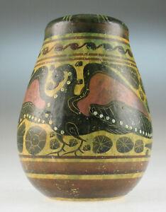 Korinthische-Keramik-kleine-Vase-Replik-corinthian-ceramic-replica
