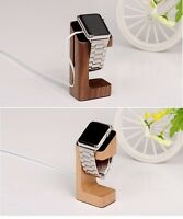 Real Wood Desktop Charging Stand Holder for Apple Watch/ Series 2  38mm / 42mm