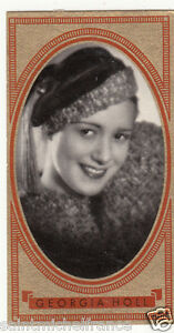 GEORGIA-HOLL-ACTRESS-ACTRICE-AUSTRIA-OSTERREICH-AUTRICHE-IMAGE-CARD-30s