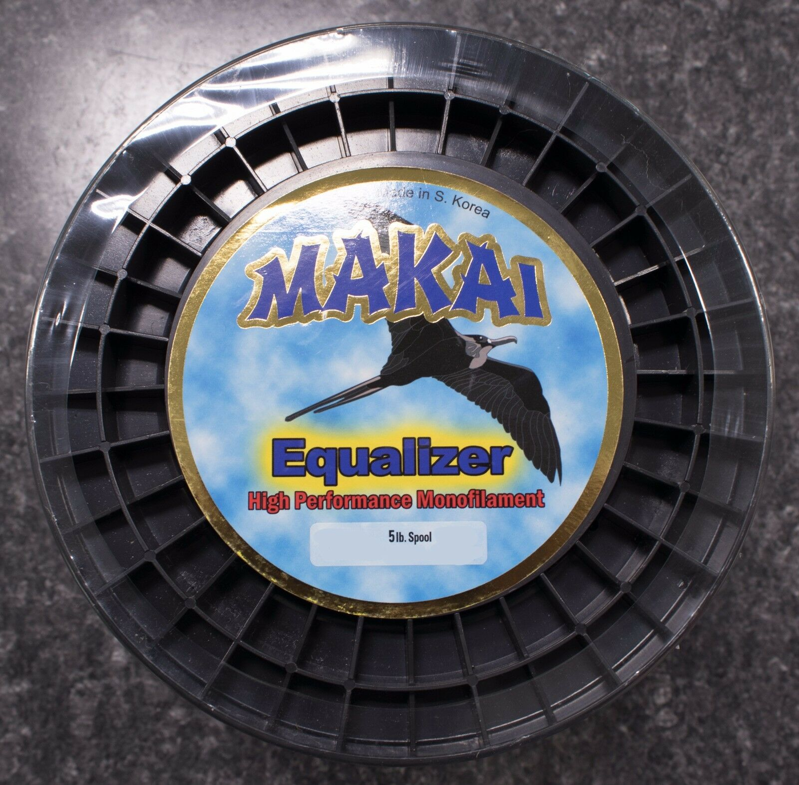 Makai Equalizer Hi-Vis Yellow Monofilament Line - 5Spool  - 40lb. x 7200yd  100% fit guarantee