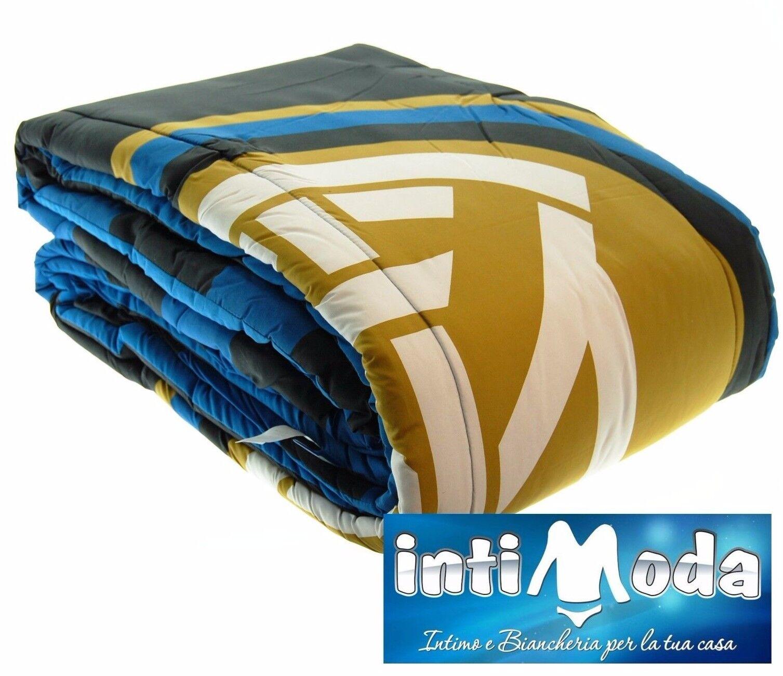 Trapunta Piumone invernale F.C. Inter ufficiale Singolo 170x260cm 320gr mq