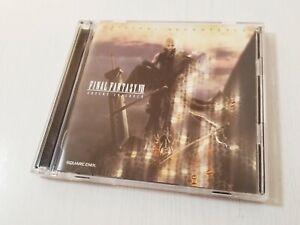 Final Fantasy VII 7 Advent Children Original Soundtrack CD Japan 0528A6